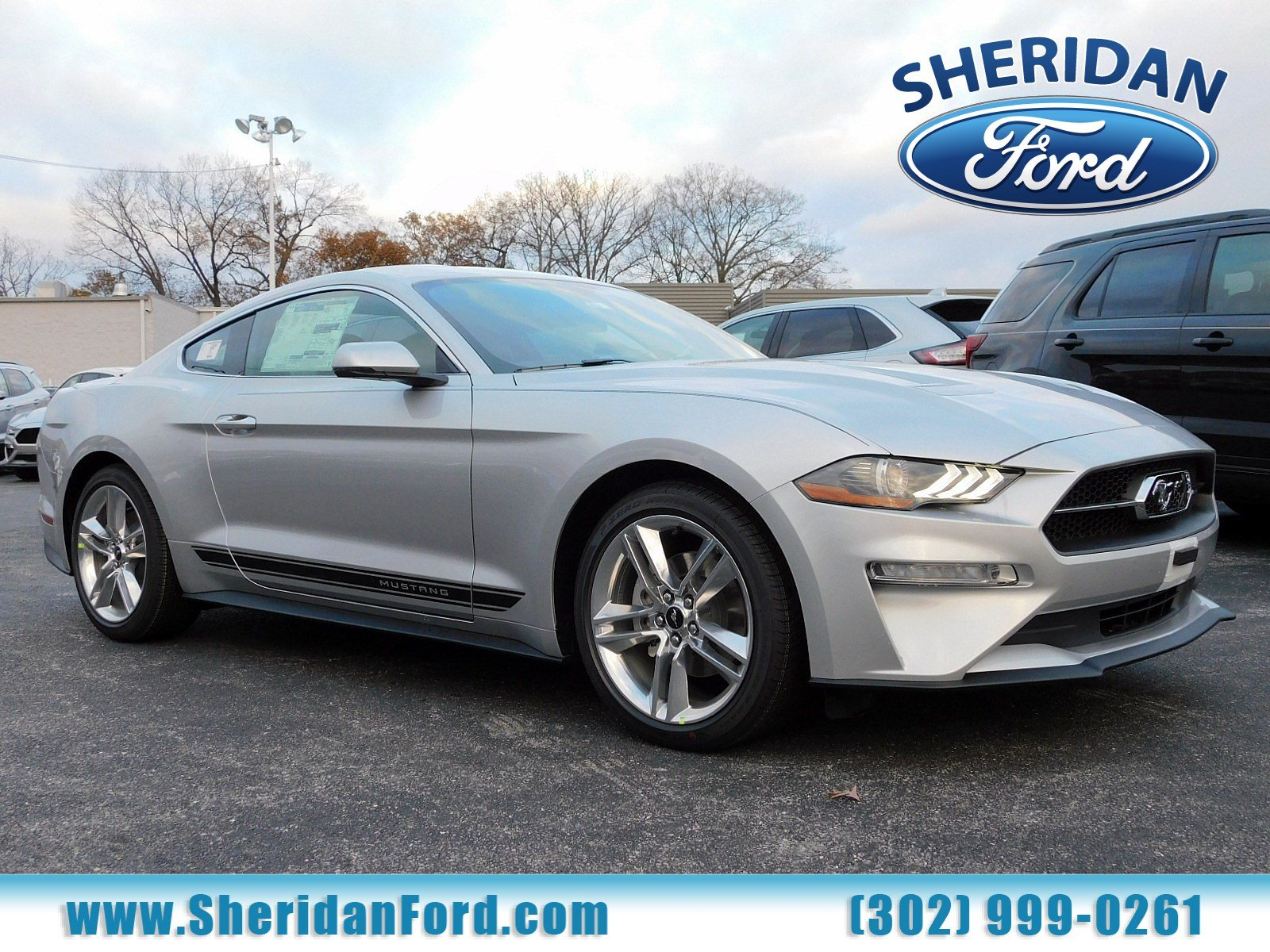 New 2019 Ford Mustang EcoBoost Premium 2dr Car in Wilmington M