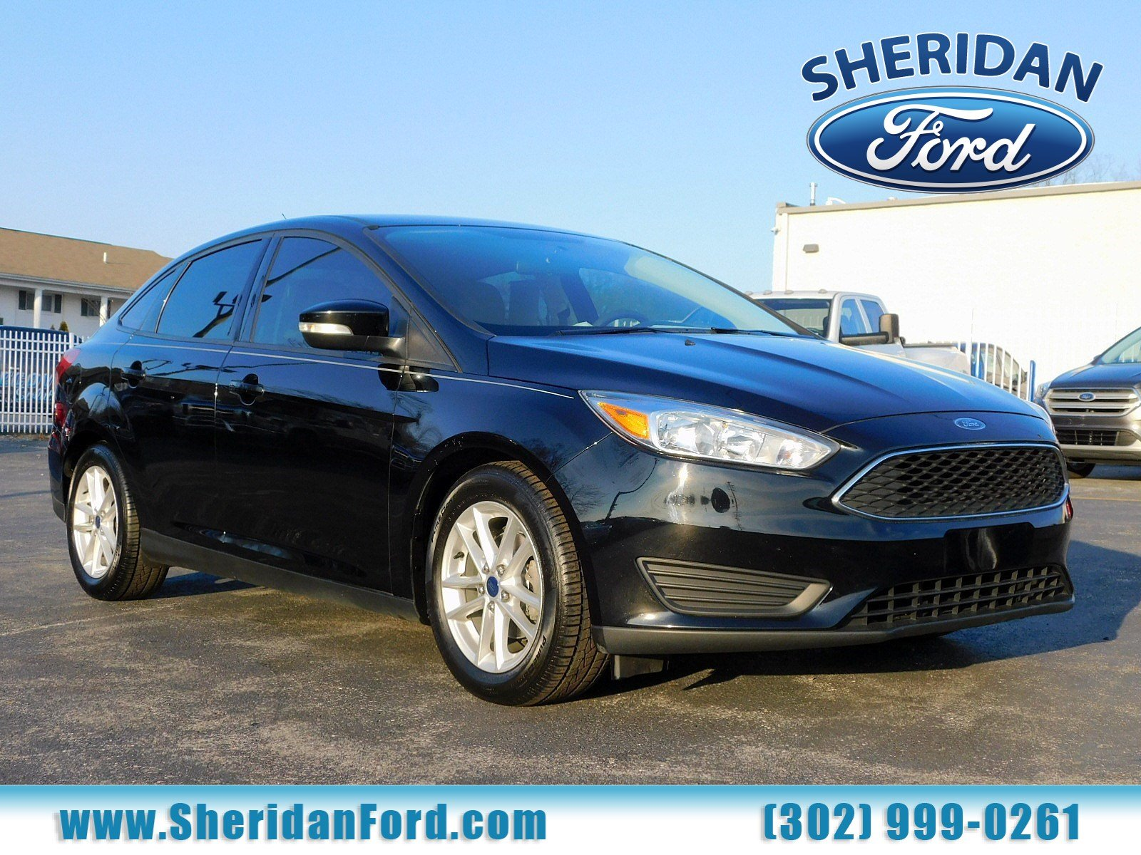 Certified pre owned 2016 ford focus se