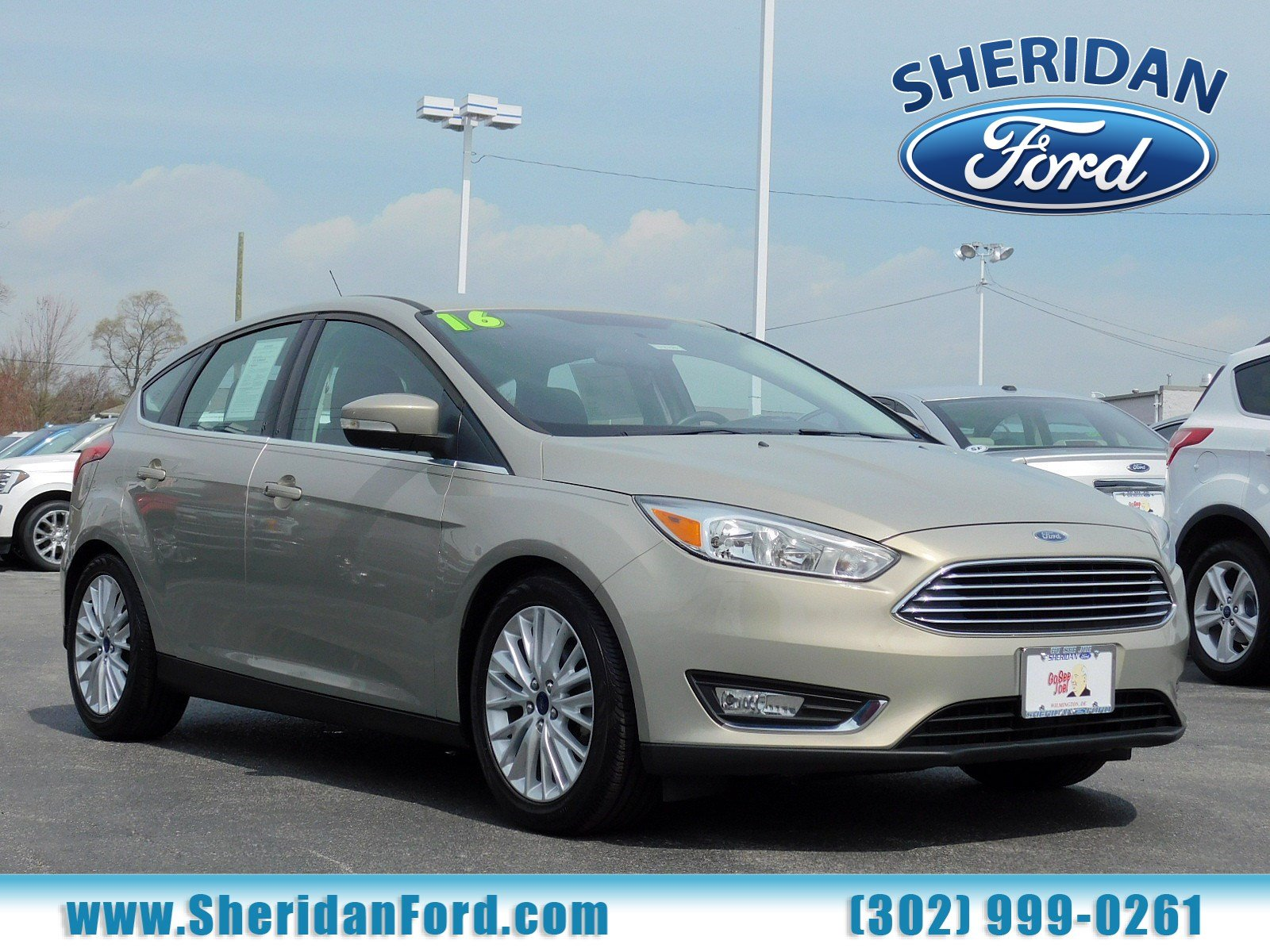 Certified Pre-Owned 2016 Ford Focus Titanium