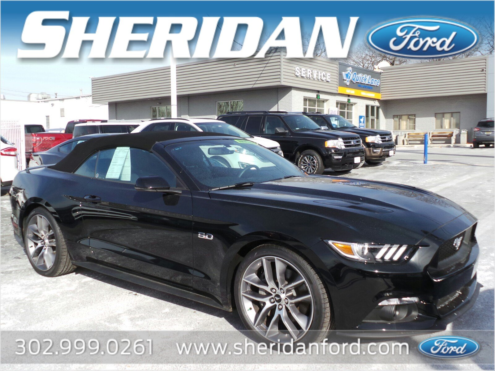 New 2017 Ford Mustang GT Premium Convertible in Wilmington MX