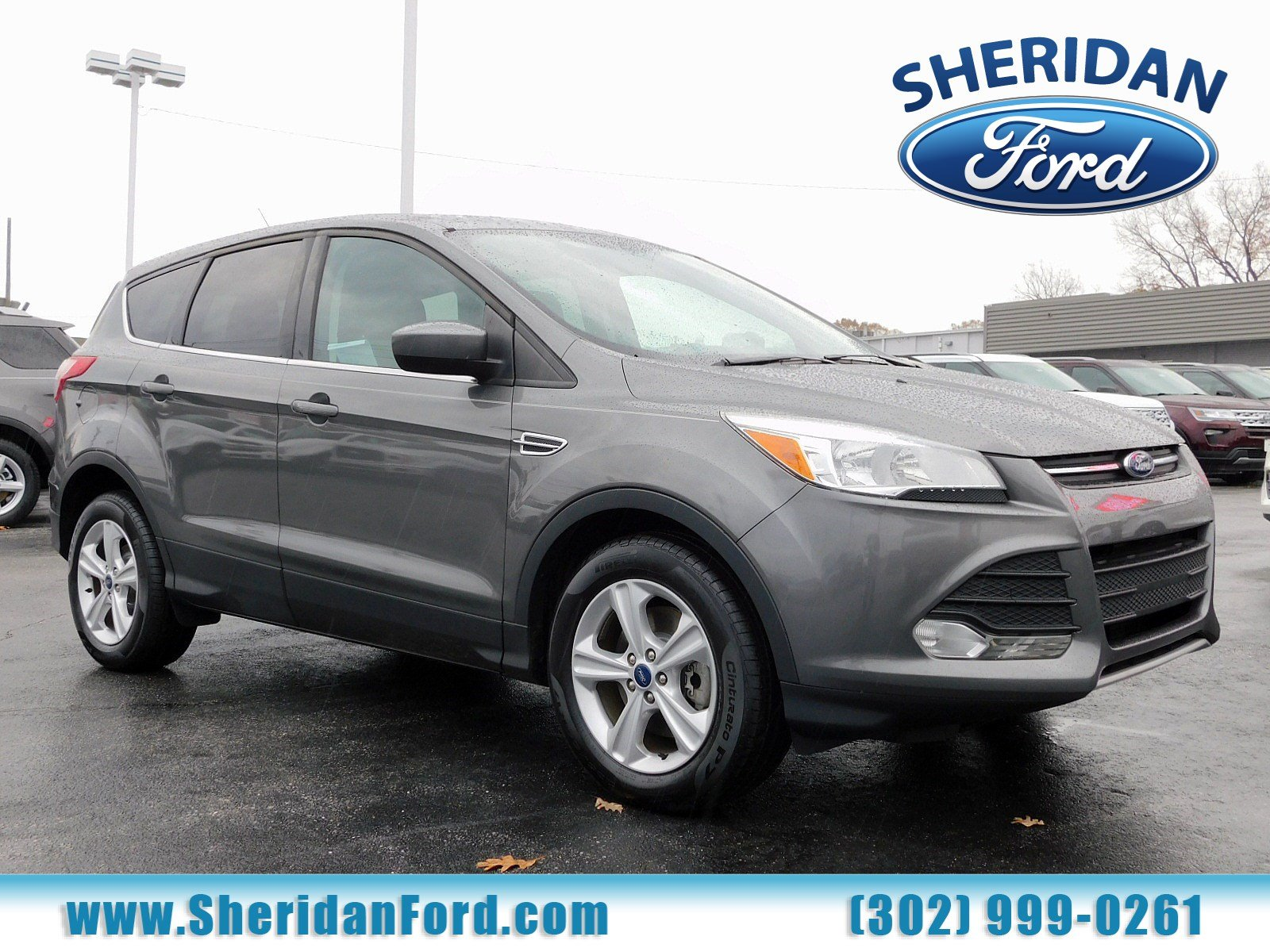 Certified pre owned 2014 ford escape se