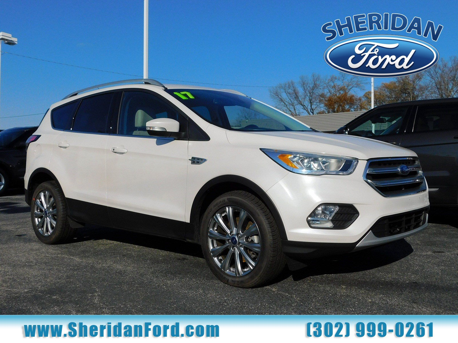 Certified pre owned 2017 ford escape titanium