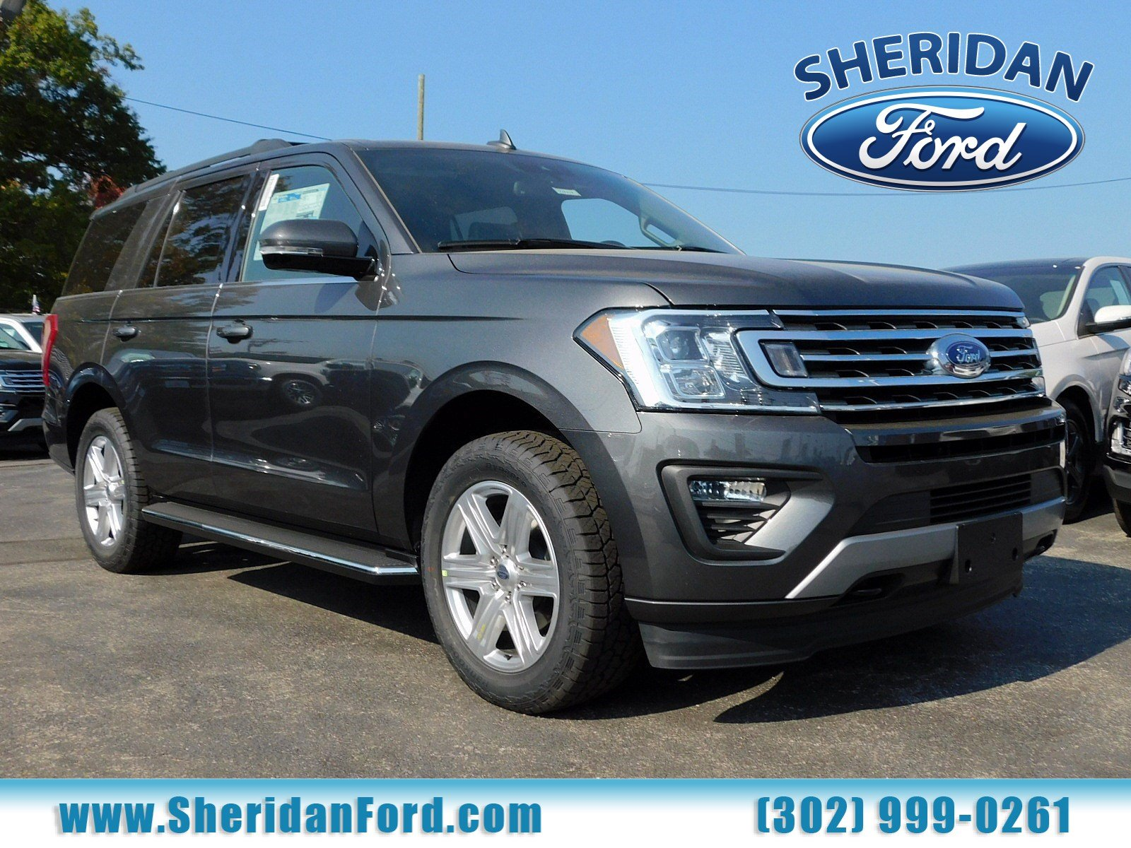 New 2019 Ford Expedition Xlt With Navigation 4wd