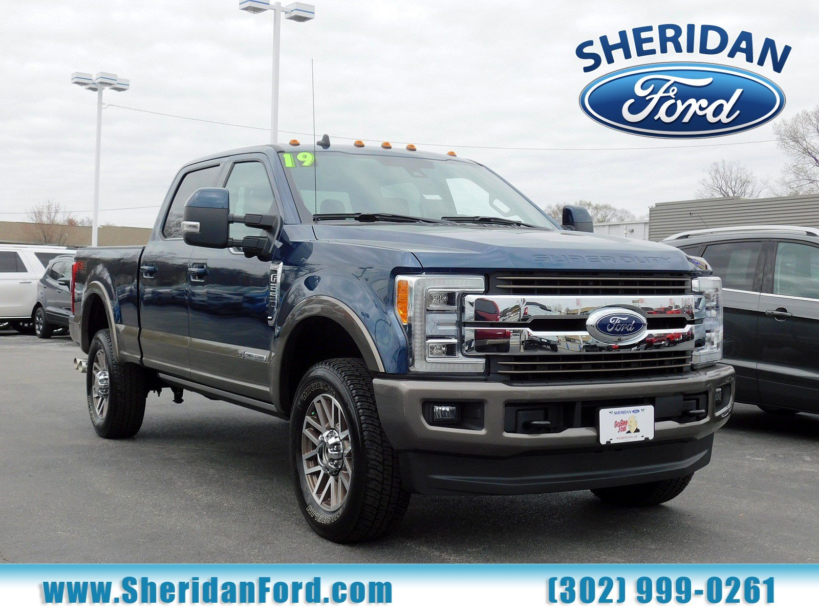 Certified Pre-Owned 2019 Ford Super Duty F-250 SRW King Ranch