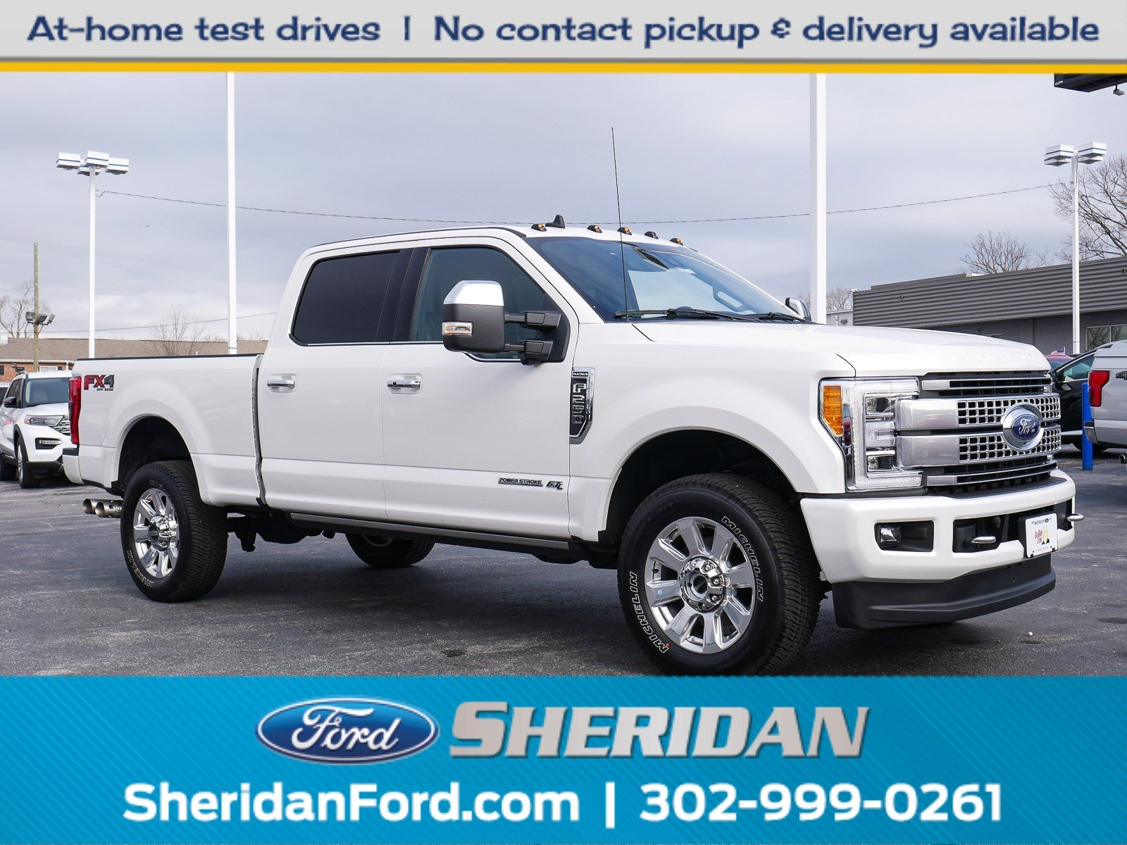 Pre-Owned 2019 Ford Super Duty F-250 SRW Platinum