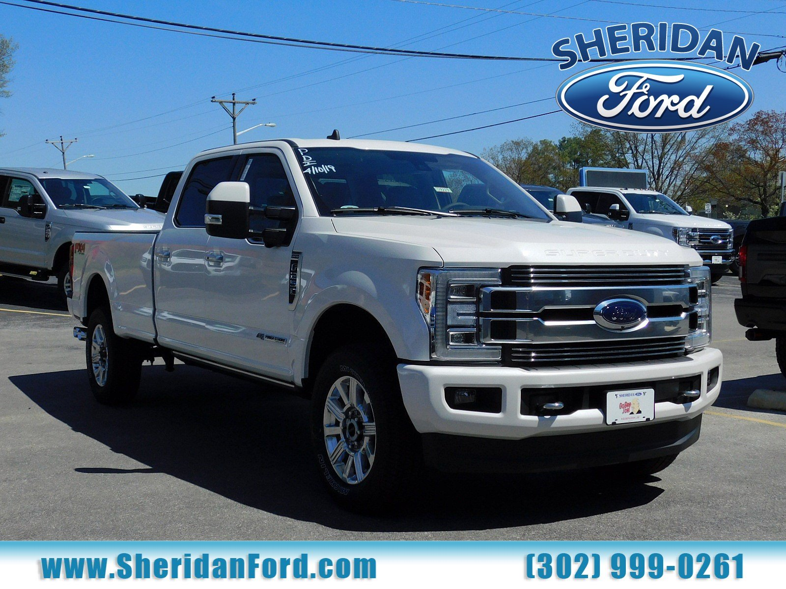New 2019 Ford Super Duty F-250 SRW Limited
