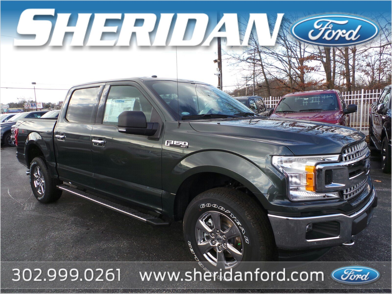 New 2018 Ford F 150 XLT Crew Cab Pickup in Wilmington T