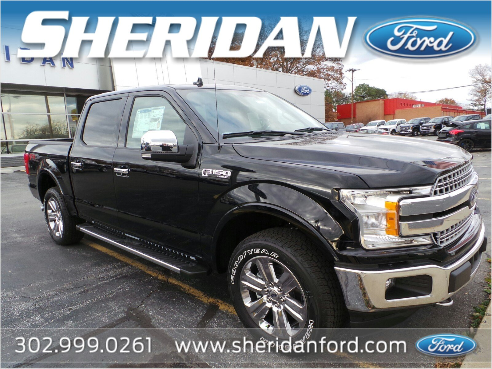 New 2018 Ford F 150 Lariat Crew Cab Pickup in Wilmington T