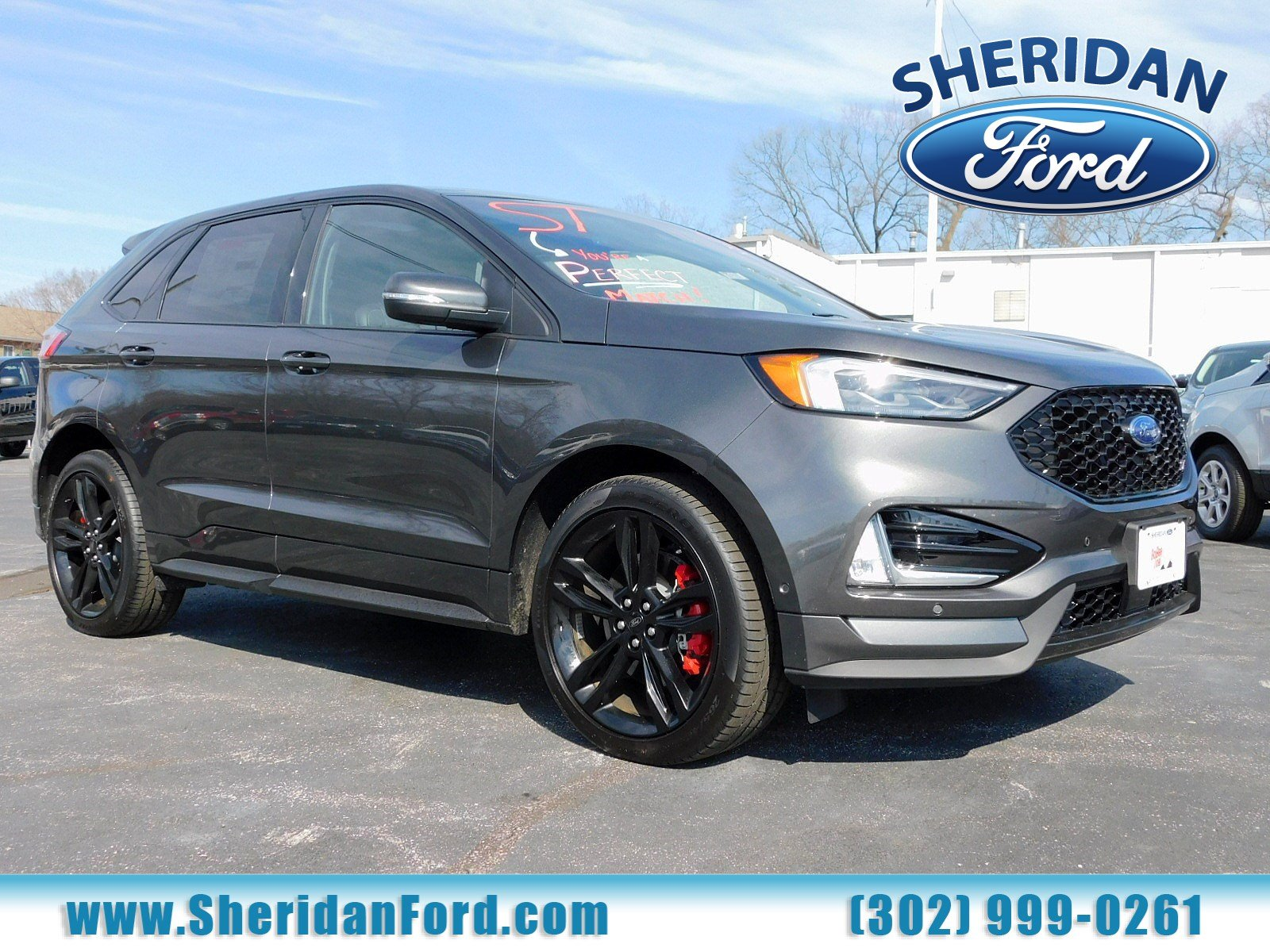 New 2019 Ford Edge ST With Navigation & AWD