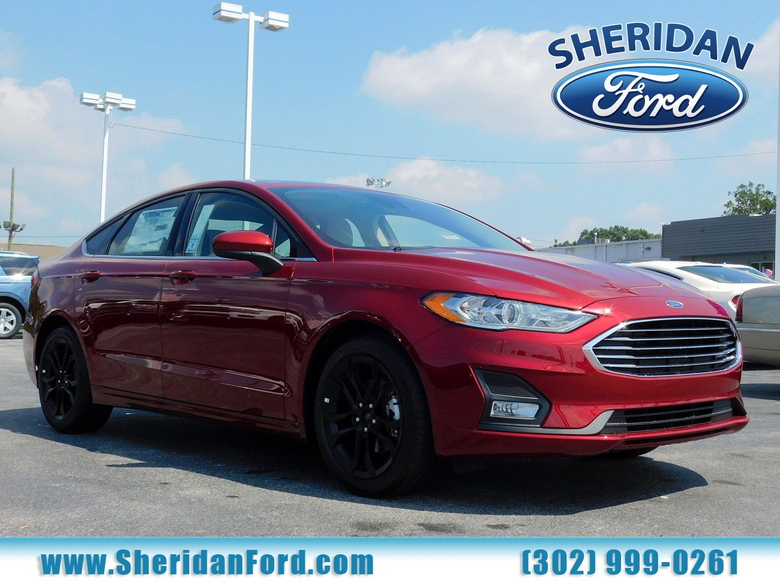 New 2019 Ford Fusion SE FWD 4dr Car