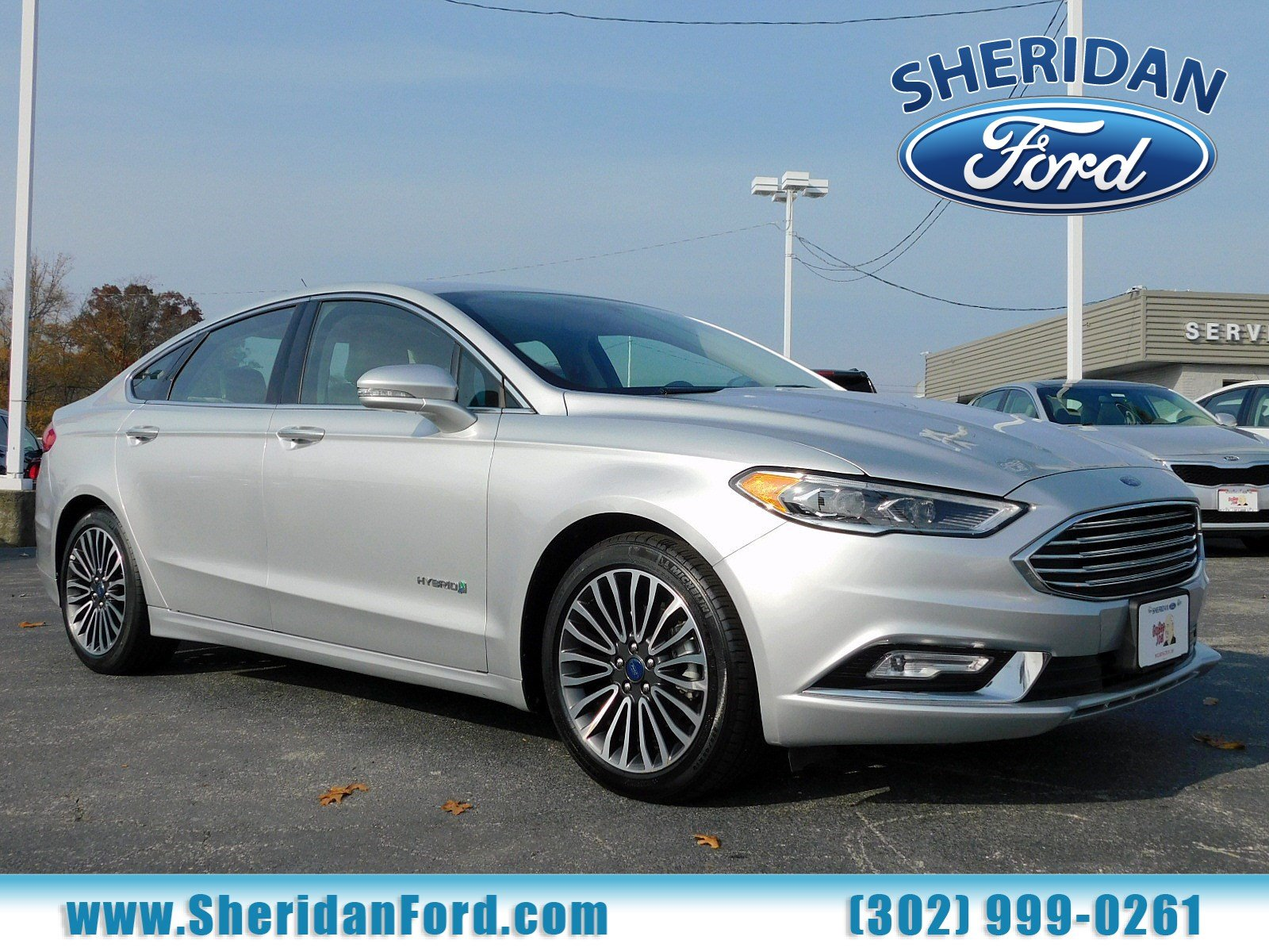 Certified Pre Owned 2017 Ford Fusion Hybrid Anium