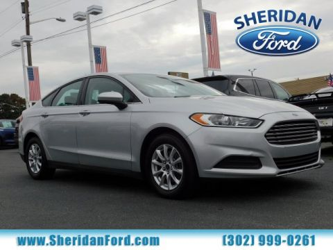 Certified Pre-Owned 2015 Ford Fusion S