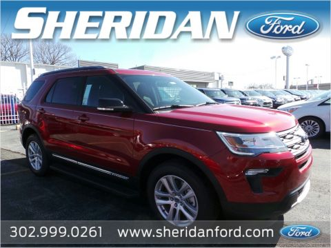 New 2018 Ford Explorer XLT 4WD