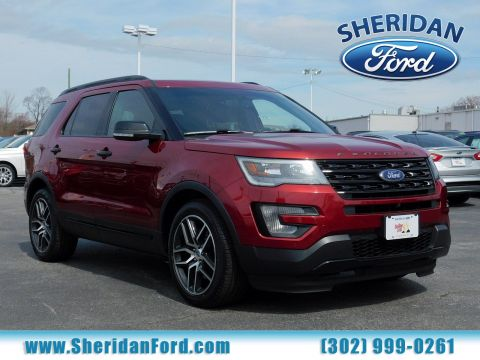 Certified Pre-Owned 2016 Ford Explorer Sport