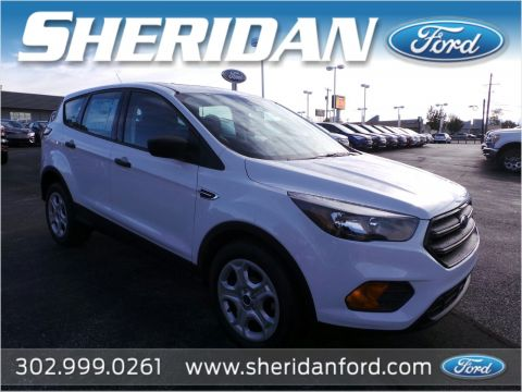 New 2018 Ford Escape S FWD Sport Utility