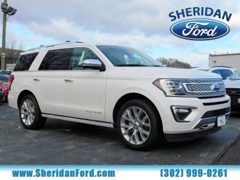 New 2018 Ford Expedition Platinum